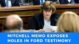 Rachel Mitchell memo exposes gaping holes in Ford testimony