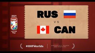 Highlights: RUSSIA vs CANADA | 2021 #IIHFWorlds