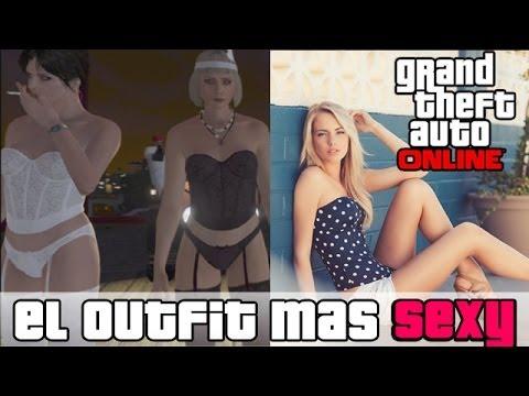 GTA V Online - El Conjunto mas Sexy y Sensual del Juego ?