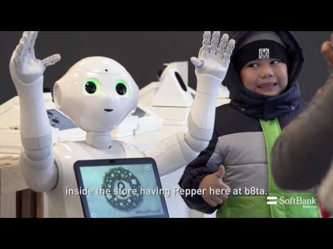 Pepper at b8TA Santa Monica Case Study | SoftBank Robotics Video