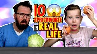 10 Sprichwörter im REAL LIFE 😂 An der Nase herumführen? Lulu & Leon - Family and Fun