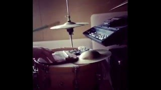 Hip hop EDM groove improvising on the kit.