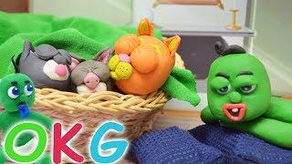 Helping Baby Kittens Cartoon / OKG Baby Videos & Cartoons For Kids