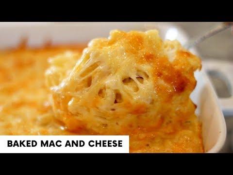 Baked Macaroni And Cheese | Thanksgiving Sides | Macaroni Pie