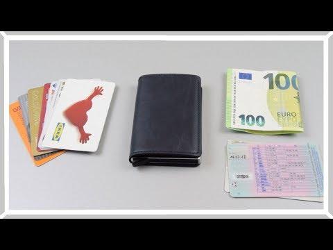 Кошелек визитница  для кредитных карточек с защитой RFID
