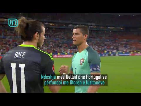 Portugali - Uells, gjysmëfinalja