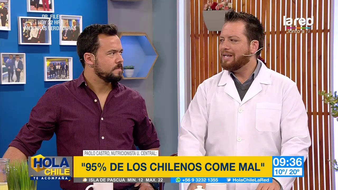 Dietas de nutricionistas chilenos
