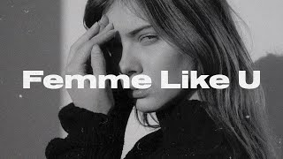 Monaldin - Femme Like U (ft. Emma Peters) (Lyric Video)