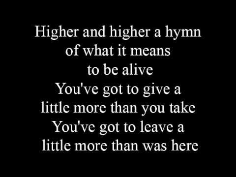 More than you take  lyrics