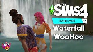 Waterfall WooHoo | The Sims 4 Island Living