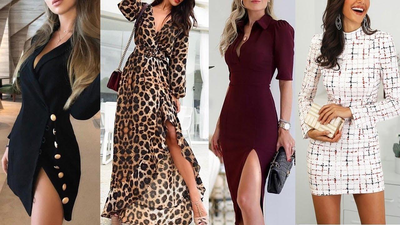 Los Más Hermosos Vestidos De Moda Y Tendencia Para Esta Temporada 20192020
