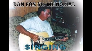2015 - Dan Fox Sr. Memorial: Dan singing Lonesome Low Dog Blues