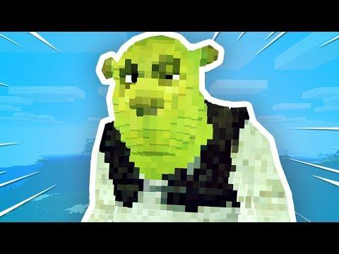 Someone Put SHREK Into Minecraft..