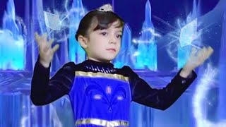 FROZEN - Let it Go in Real Life for Kids ★ Elsa Singing Pretend Play Cover for Children