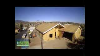 Structural Insulated Panel Time Lapse Construction