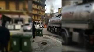 Autospurgo spegne incendio auto a Sava