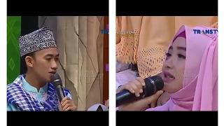 Subhanallah bikin merinding saat Ustadz Syam dan Ega Noviantika melantunkan surah Al-Zalzalah