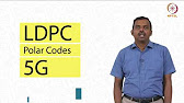 Performance Comparison of LDPC codes and Polar Codes in 5G - YouTube