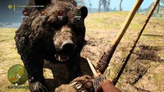 Far Cry Primal - Fly Like Bird: Hunt & Skin Animals for Urki (Snow Bird, Tortoise, Raven & Bitefish)