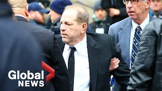 Harvey Weinstein charged with rape, sexual assault in Los Angeles
