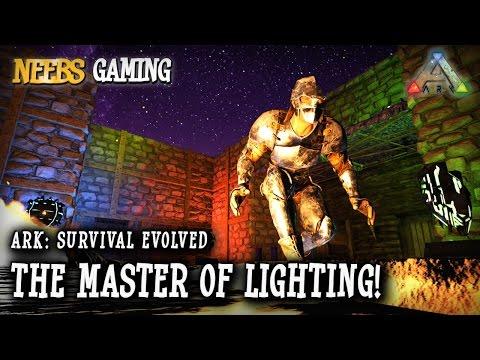 Ark: Survival Evolved - The Master of Lighting!