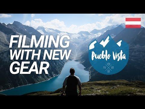 FILMING WITH NEW GEAR : Olpererhütte (Zillertal) : Hiking Austrian Alps