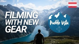 FILMING WITH NEW GEAR : Olpererhütte (Zillertal) : Hiking in Austria : Alps