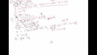 Урок №3  5 клас  Розв'язування рівнянь, що містять ділення та множення