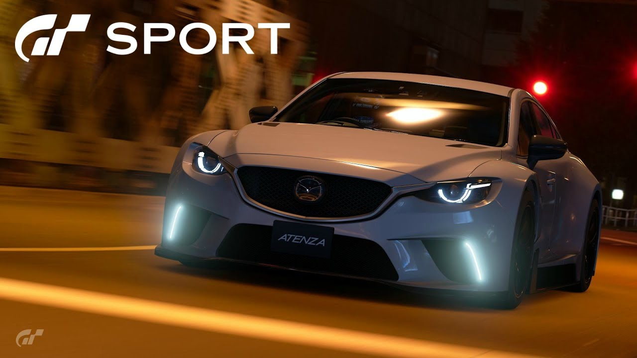 gt sport - mazda atenza gr.3 road car review - youtube