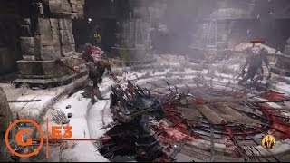 Lords Of The Fallen Gameplay - E3 2014