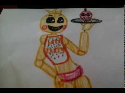 Chica wants cake. My Draw