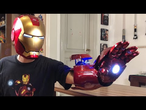 Iron Man Mark 7: Voice Control Helmet And Wearable Armour