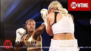Nikki Adler vs. Claressa Shields: Highlights | ShoBox: The New Generation