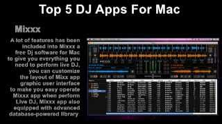 5 Best Mac Apps For DJ (Disc Jockey)