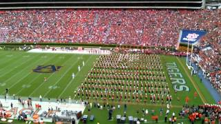 Repeat youtube video Auburn University Marching Band entering the field