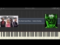 The Black Eyed Peas   I Gotta Feeling   PIANO TUTORIAL