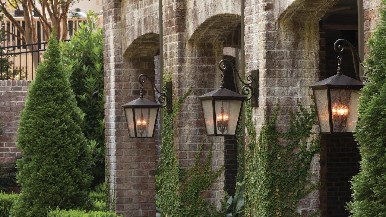 hinkley trellis outdoor lighting collection youtube