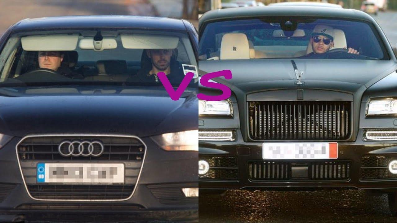 Morgan Schneiderlin cars vs Memphis depay cars (2018) - YouTube