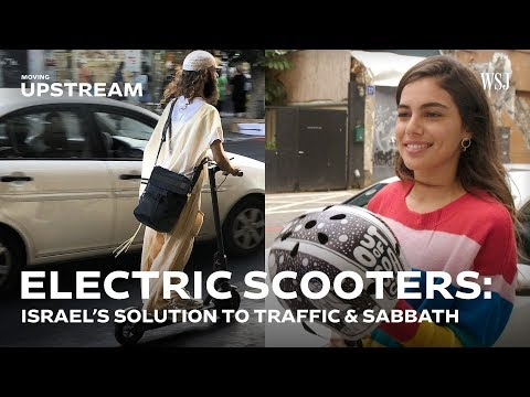 Electric Scooters: Israel's Two-Wheeled Solution to Traffic and Sabbath