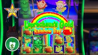 ⭐️ New - Leprechaun's Gold Rainbow Bay slot machine, bonus
