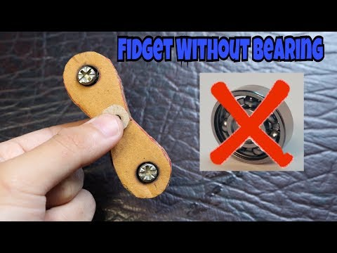 How to Make Fidget Spinner Without Bearing at Home