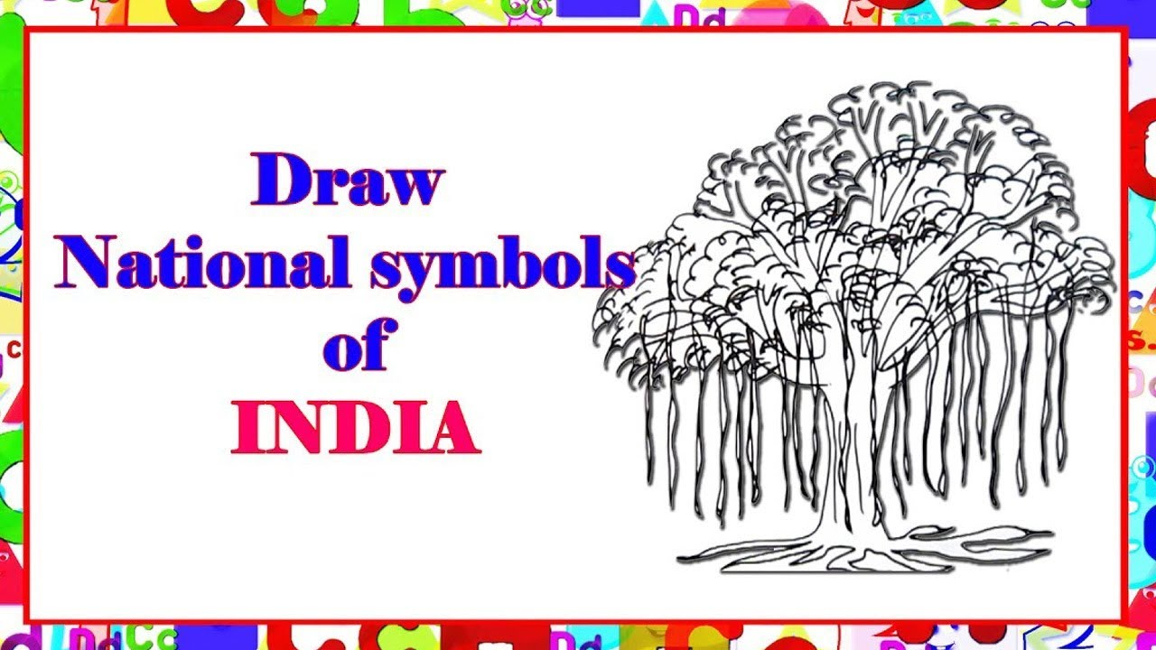 Draw National Symbol Of India Learn By Art Youtube