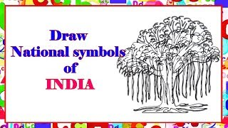 Draw National Symbol of India   Learn By Art