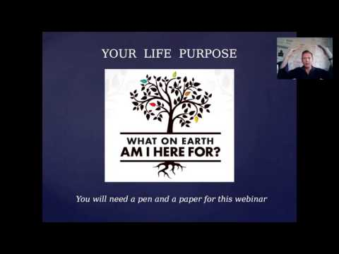 Your Life Purpose webinar   2016-02-13 / Creative Consciousness