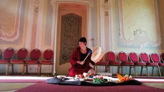 Healing voice with Shamanic drum