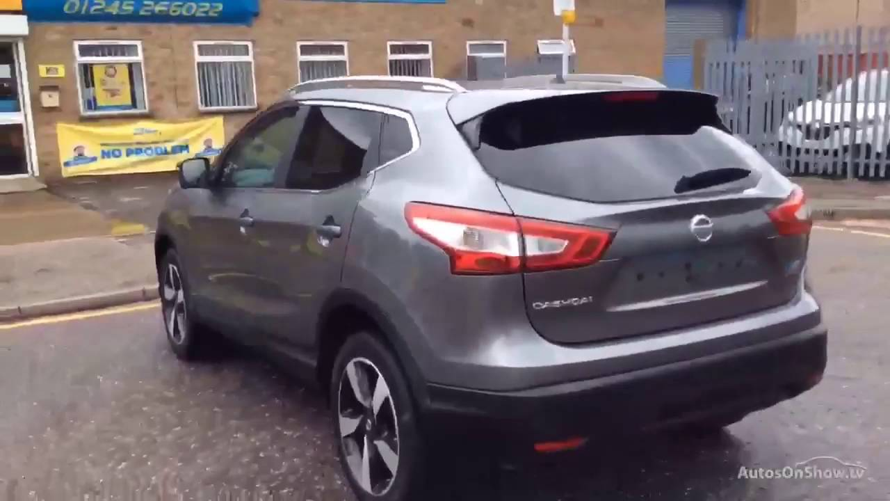 nissan qashqai n connecta dci grey 2016 youtube. Black Bedroom Furniture Sets. Home Design Ideas