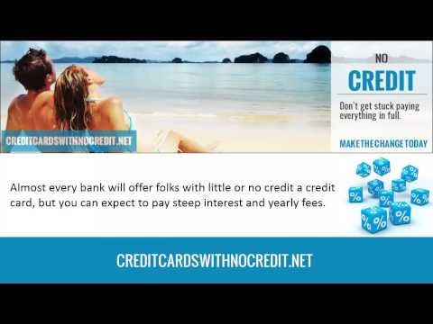 Which Banks Offer Credit Cards With No Credit History