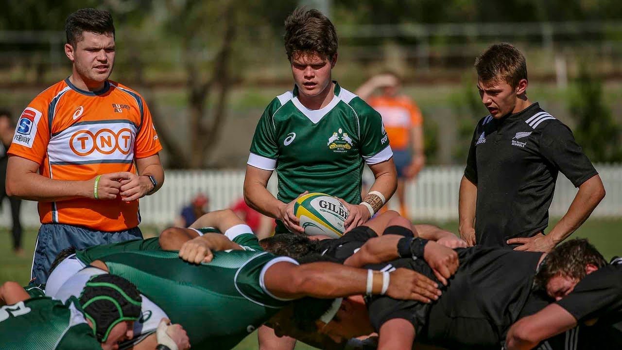 121dff4c424 2018 Schools Tri-nations: Australian Barbarians vs New Zealand - YouTube