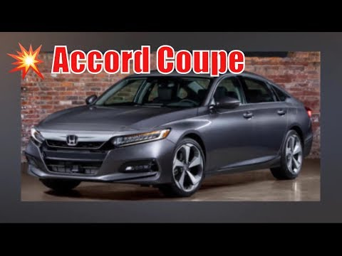 2020 honda accord coupe release date | 2020 Honda Accord Coupe Redesign | Buy new cars