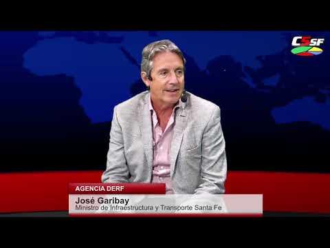 José Garibay: En Santa Fe mantenemos el ritmo de obras